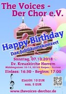 Konzert 2018 - Happy Birthday Jubiläumskonzert
